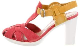 See by Chloe Multistrap Colorblock Sandals