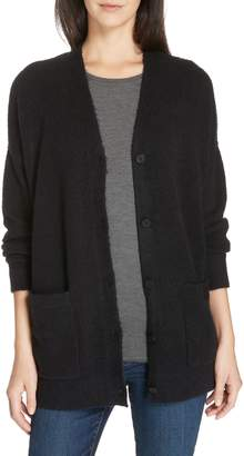 Eileen Fisher Organic Cotton Blend Boyfriend Cardigan