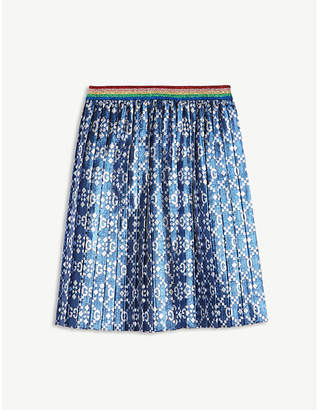 Gucci Metallic lurex skirt 6-12 years