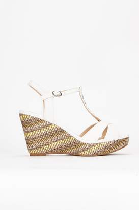 1a6bcdb165d White Wedge Sandals - ShopStyle UK