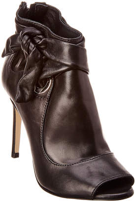 Karen Millen Eyelet Leather Bootie