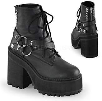 Demonia Women's Asst101/bvl Ankle Bootie