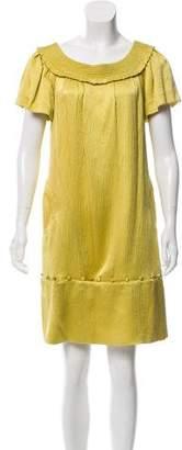 Lela Rose Silk Shift Dress