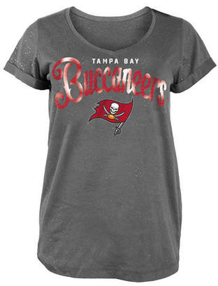 5th & Ocean Women Tampa Bay Buccaneers Script Logo T-Shirt