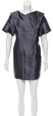 Balenciaga  Balenciaga Silk Shift Dress