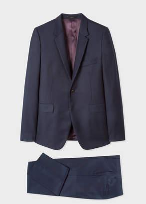 Paul Smith The Kensington - Men's Slim-Fit Dark Navy Pin Dot Wool Suit