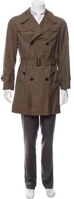 Dries Van Noten Double-Breasted Trench Coat