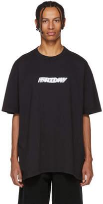 Vetements Black Friday Weekday T-Shirt