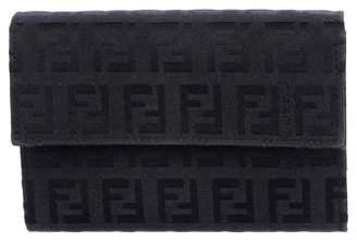 Fendi Zucchino Compact Wallet