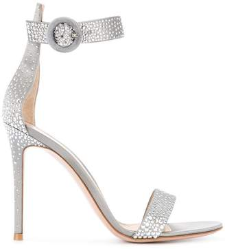 Gianvito Rossi studded sandals