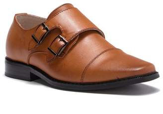 Joseph Allen Double Monk Strap Shoe (Little Kid & Big Kid)