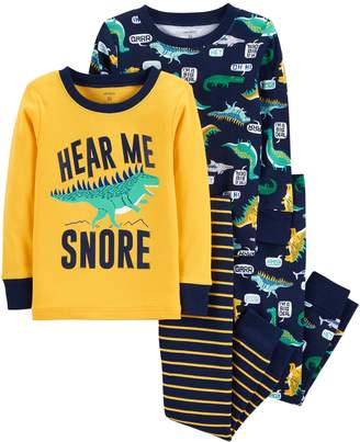 "Carter's Toddler Boy Hear Me Snore"" Donisaur Tops & Bottoms Pajama Set"
