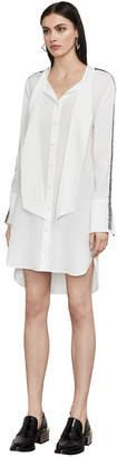 BCBGMAXAZRIA Effie High-Low Shirt Dress