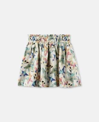 Stella McCartney nat stars print skirt