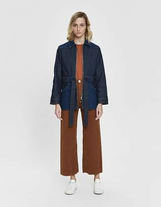 A.P.C. Patch Denim Jacket