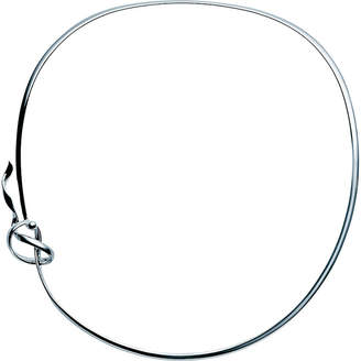 Georg Jensen Forget-me-knot sterling silver neck ring
