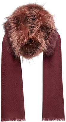 Fendi Touch Of Fur stole