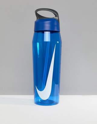 Nike Training Hydrocharge Straw Water Bottle 910ml In Blue N.ob.e2.445.32