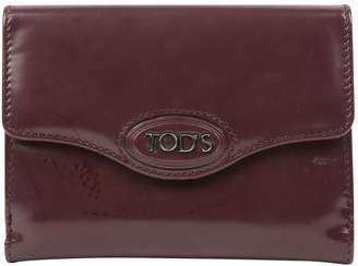 Tod's Leather Card Wallet