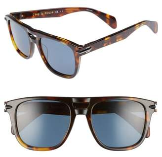 Rag & Bone 53mm Polarized Sunglasses