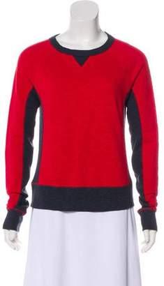 Rag & Bone Colorblock Crew Neck Sweatshirt