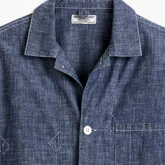 J.Crew Wallace & Barnes chambray shirt jacket
