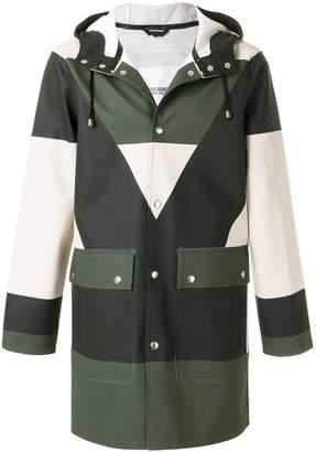 Henrik Vibskov colour block buttoned coat