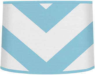 "JoJo Designs Sweet Chevron 10"" Brushed Microfiber Drum Lamp Shade"
