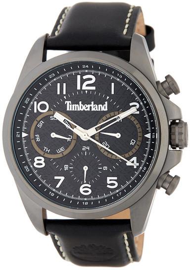 TimberlandTimberland Men&s Smithfield Leather Watch