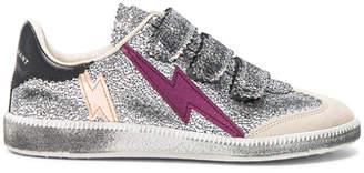 Isabel Marant Beth Metallic Sneakers