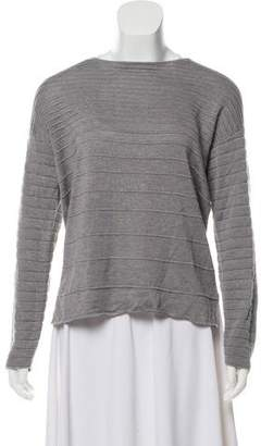 Aether Silk Scoop-Neck Sweater