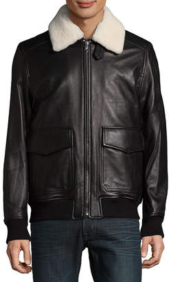 Michael Kors Shearling Touch Aviator Jacket