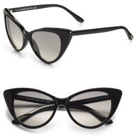 Tom Ford Nikita 55MM Cat's-Eye Sunglasses/Black
