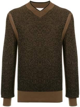 Cerruti v neck knit sweater