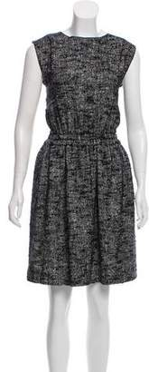 Dolce & Gabbana Tweed A-Line Dress