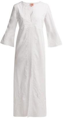 Le Sirenuse Le Sirenuse, Positano - Vanessa Broderie Anglaise Cotton Dress - Womens - White