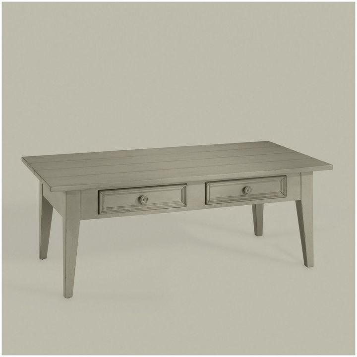 Ethan Allen New Country Coffee Table: Get The Look: HGTV Design Star Emily Henderson's Living