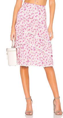 Majorelle Carly Midi Skirt
