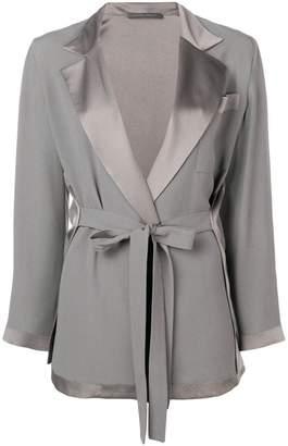 Alberta Ferretti belted tailored jacket