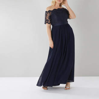 Coast Maddie Embr Maxi Dress Cc