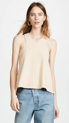 Tibi V Neck Top
