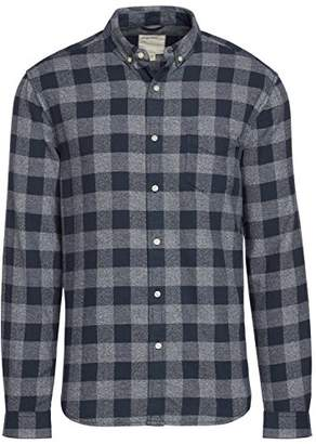 Life After Denim Men's Long Sleeve Slim Fit Allegheny Check Shirt