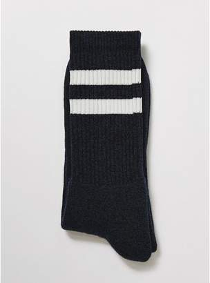 Topman Mens Blue Twist Tube Socks