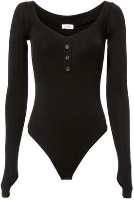 Alix Sutton Black Bodysuit