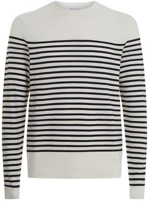 Sandro Textured Striped Sweater