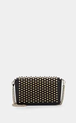 Christian Louboutin Women's Zoompouch Leather Crossbody Bag - Black