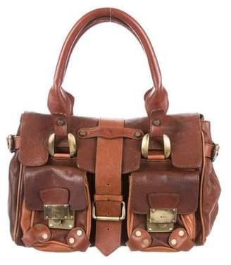 Barbara Bui Grained Leather Handle Bag