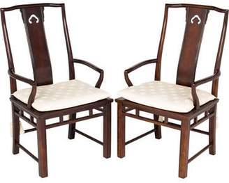 Pair of Chinoiserie Dining Armchairs