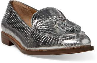 Ralph Lauren Brindy Snakeskin Loafer