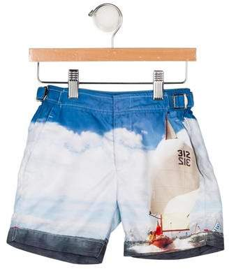 Orlebar Brown Boys' Printed Swim Shorts